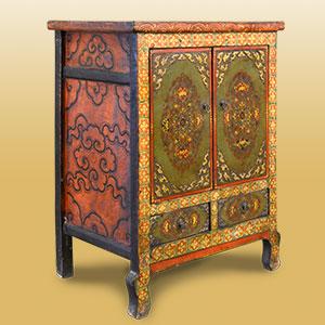 Tibetmöbel Traditionelle Möbelstücke Aus Tibet